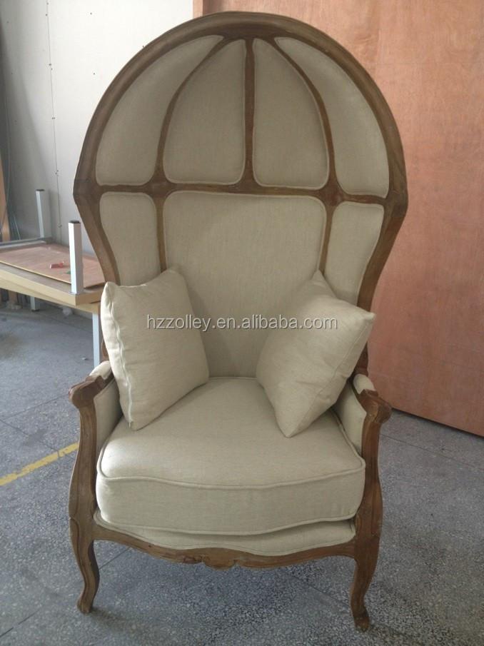Stock Clearance Wooden Egg Chair Balloon Wooden Chair