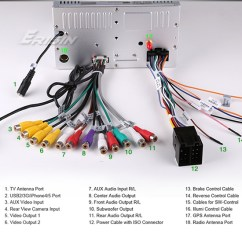 Wiring Diagram For Sony Stereo 2000 Ford F150 Starter Solenoid Erisin Es89g 6.2