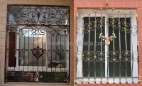 Simple Decorative House Wrought Iron Window Grills, View ...