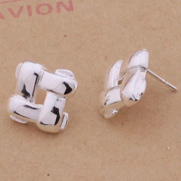 6d0dfe4a9 ②AE151 Trendy wholesale silver earrings
