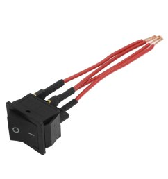 red wire ac 250v 16a 125a 20a dpst on off 4 pin boat rocker switch [ 1100 x 1100 Pixel ]