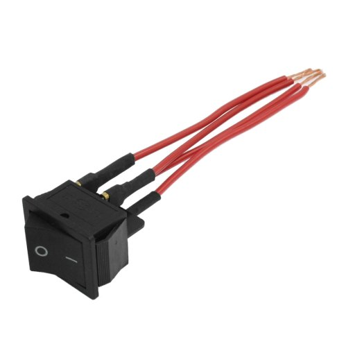 small resolution of red wire ac 250v 16a 125a 20a dpst on off 4 pin boat rocker switch