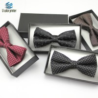 2014 New round bow tie box with custom design