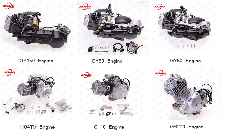 Cheap 152fmh 110cc Atv Engine Motorcycle Engine Parts For