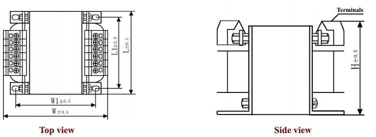 450va Dry Type Single Phase Machine Tool Control