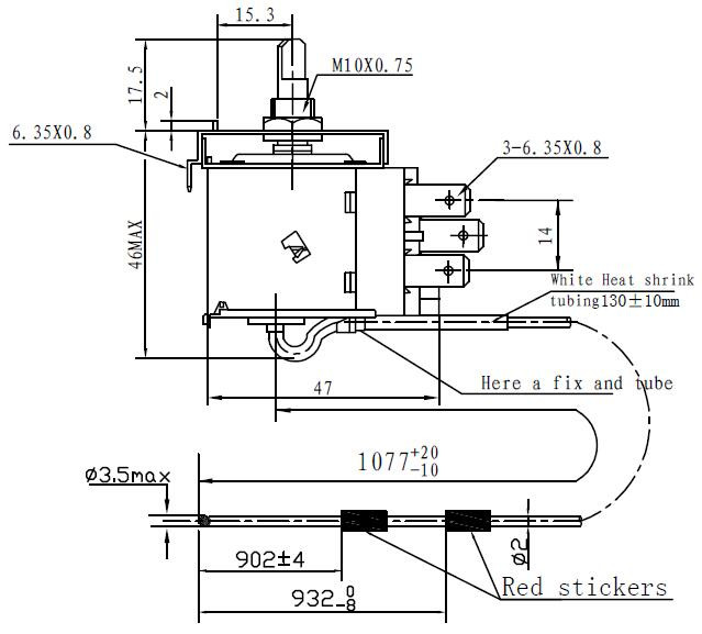 High quality cold/Temperature controller/ Capillary