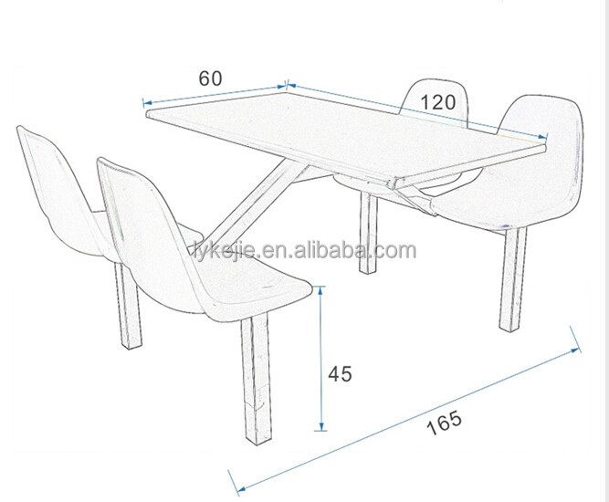 Factory Canteen Table/school Canteen Table/stainless Steel