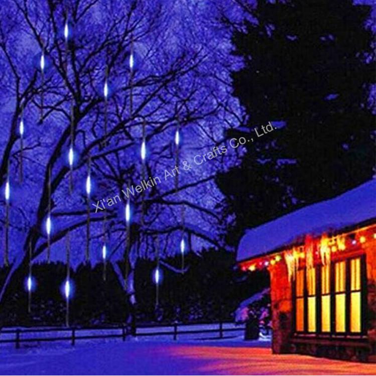 LED meteor shower light/Outdoor meteor snow shower