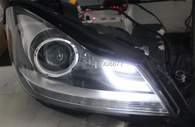 2013 Mercedes W204 Hid Conversion Kit