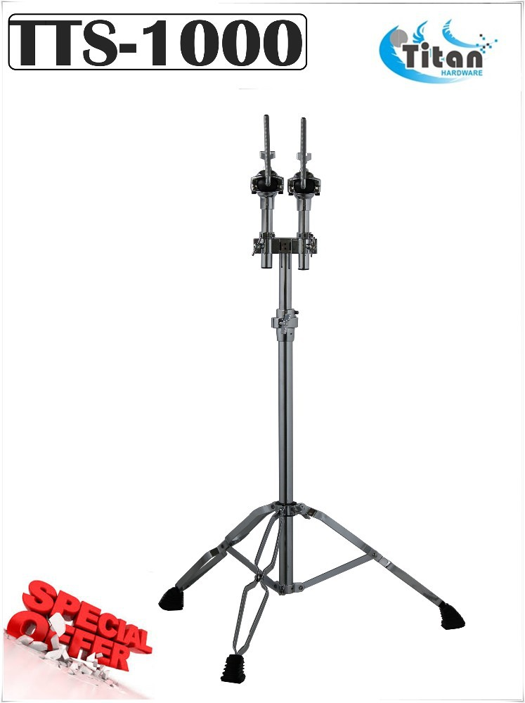 Music Instrument Percussion Drum Twin Tom Stand Taiwan