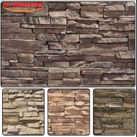 Customized Exterior Wall Decoration Artificial Stone Molds ...
