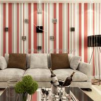 Striped Wallpaper For Living Room - [peenmedia.com]