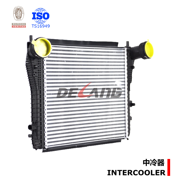 Liquid To Air Intercooler Pa66 Gf30 For Skoda Octavia (dl