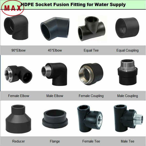 Hdpe Flange Adapter Water Pipe Fittings/poly Pipe And