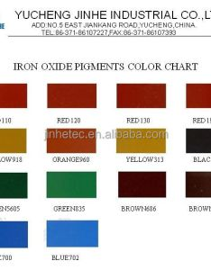 Jinhe color chart also iron oxide yellow equal to bayferrox buy rh alibaba