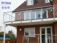 Balcony Rail Design New/frameless Exterior Glass Railing ...