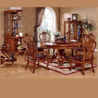 2015 Royal Palace Home Dining Furniture,Solid Wood Round ...