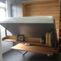 Transformable Wall Beds,Foldable Beds With Desk,Folding