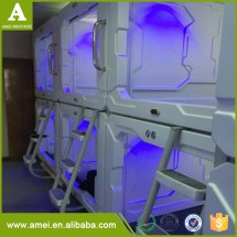 Plastic Capsule Hotel Modern Container House Sleep Box
