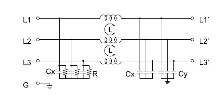 Ac Power Line Emi Filter AC RFI Filter Wiring Diagram ~ Odicis