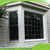 White Color Aluminum Fixed Window For Balcony Bay Window ...