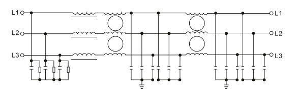 Three Phase Emc / Emi Input Filter For Frequency Inverter