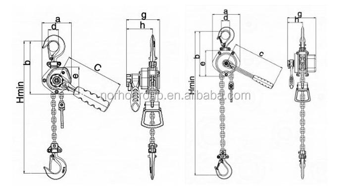 High Quality Gantry Crane Hoist/kito Crane Hoist Ce Gs