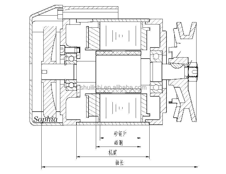 Needle Position Energy Saving Servo Motor, Industrial