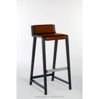 Italy Modern Leather Standing High Chair For Bar Stool ...