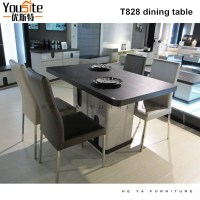 T828 Cheap Malaysian Oak Dining Room Tables For Sale