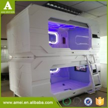China Capsule Hotel Bed