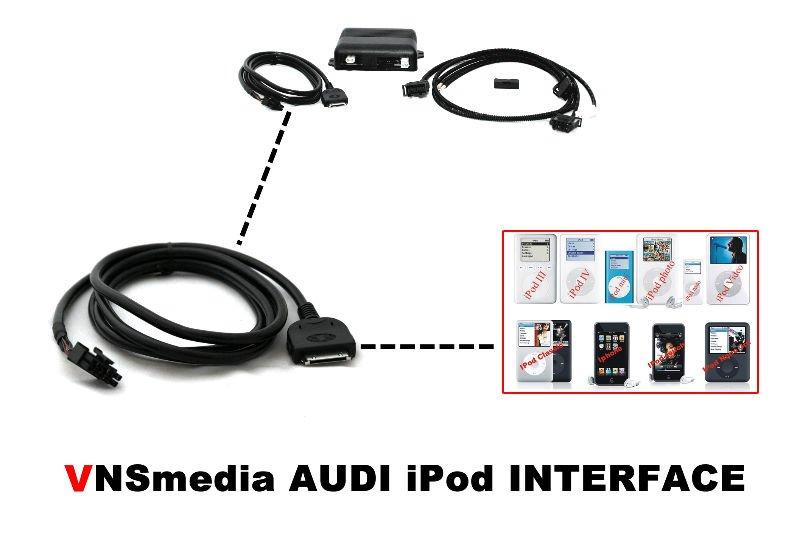 Audi Multimedia Interface Ami Ipod Mmi 2g Q7 A6 A5 Q5 A4