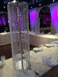 IRIDESCENT WEDDING CRYSTAL PILLARS, View wedding pillars ...