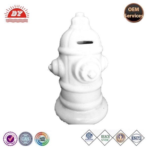 Cheap Large Plastic Fire Hydrant Coin Banks