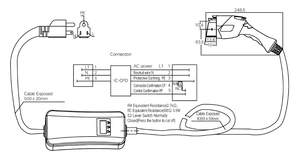 [DIAGRAM] Sae J1772 Connector Wiring Diagram FULL Version