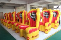 China King Throne Inflatable Chair Birthday With Best ...