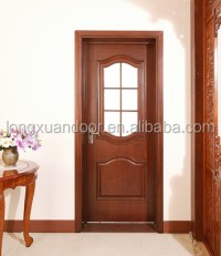 Wood Entry Door With Frosted Glass,Kitchen Door Design ...