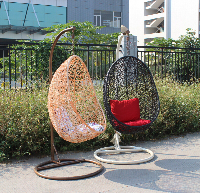 Rattan Hanging Egg Chair Outdoor Swing Chair