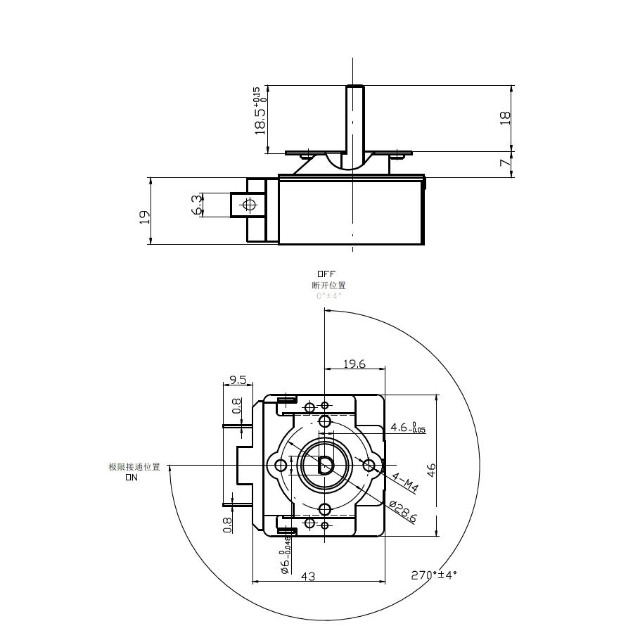 Oven Parts 0-5min,15min,30min,45min,60min,90min,120min