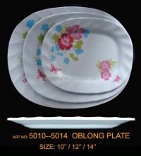 """10""""-12"""" Plastic Melamine Hotel Restaurant Oblong Plates ..."""