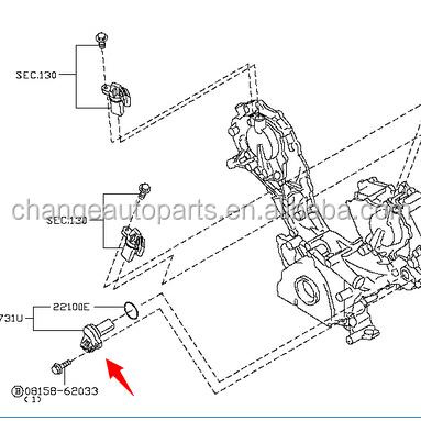 Camshaft Position Sensor 23731-4m500 For Nissan Pulsar