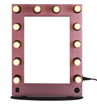 Professional lighting makeup mirror,wall-mounted lighted ...
