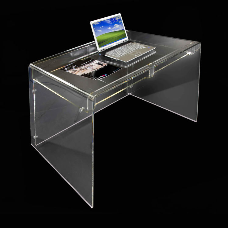 New Design Supreme Office Furniture Clear Acrylic Writing