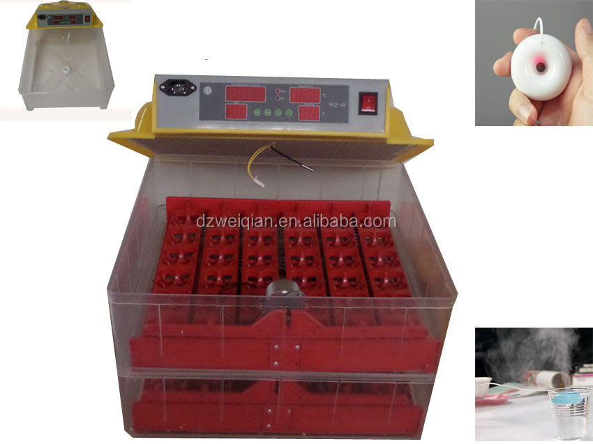 Weiqian Brand Factory Supply Fully Automatic Egg Incubator