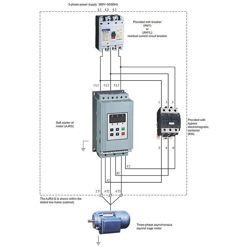 soft starter wiring diagram eaton fuller transmission source ajr3 intelligent motor on m alibaba com main circuit jpg