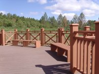 Outdoor Stair Rail/wood Railings/balcony Railings Wpc