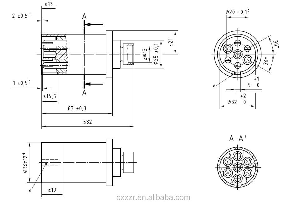 Tpu 7 Core 12n Trailer Electrical Coil With Aluminium