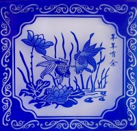 Modern Wall Art Decor/traditional Hand Cut Modern Glass ...