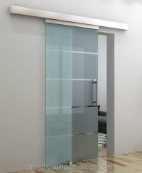 Sliding Bathroom Glass Door / Sliding Frameless Tempered ...