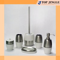 High Quality Unique White Stainless Bath Accessories Set ...